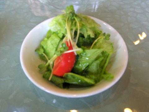 埼玉県越谷市東越谷10丁目にある洋食店「西洋改食 改」Cランチのサラダ