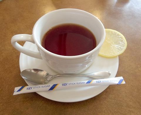 埼玉県春日部市牛島にあるカフェ、イタリアンのお店「クレール Clair」サービスステーキランチのドリンク