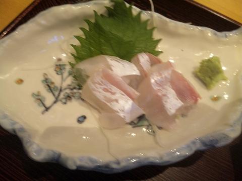 千葉県木更津市請西東5丁目にある懐石・会席料理、寿司の「お食事処 すし こよう」日替わり定食の刺身