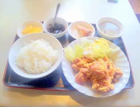 埼玉県所沢市小手指南2丁目にある「中華料理 佳源 KAEN」鶏の唐揚げセット