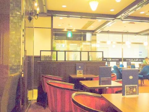 東京都新宿区新宿3丁目にある喫茶店「喫茶室ルノアール ニュー新宿3丁目店」店内