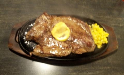 埼玉県所沢市西住吉にあるステーキ店「すてーき亭 所沢店」1ポンドステーキ