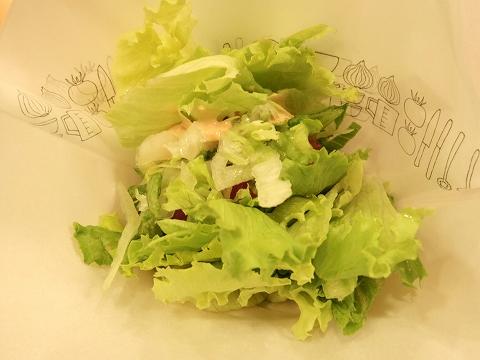 東京都練馬区春日町6丁目にあるハンバーガー、ファーストフードの「モスバーガー 練馬春日町店」モスの菜摘のモス野菜
