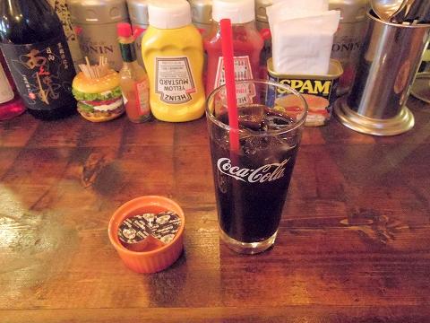神奈川県川崎市川崎区東田町にあるハンバーガー、ステーキの「WILD STOCK ワイルドストック」アイスコーヒー
