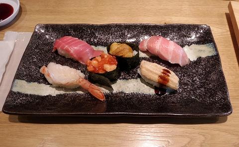埼玉県さいたま市北区吉野町2丁目にある寿司店「いさば寿司」にぎりセット「いさば寿司」6貫