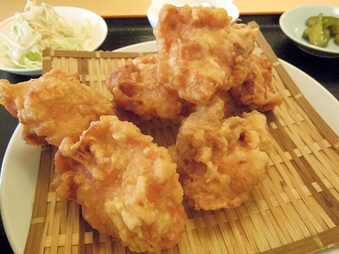 茨城県ひたちなか市大平4丁目にある「中華料理 翔ちゃん」鳥の唐揚