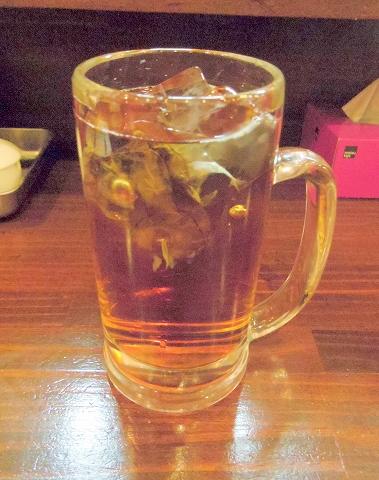 東京都新宿区上落合2丁目にある「串揚げ あげあげ 中井店」ウーロン茶