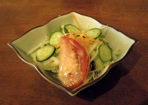 埼玉県越谷市南越谷4丁目にあるフレンチのお店「ビストロニシナ」レディースランチのサラダ
