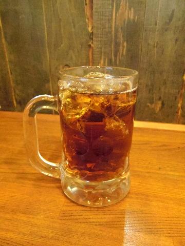 埼玉県越谷市千間台西2丁目にある居酒屋「おふくろう」ウーロン茶