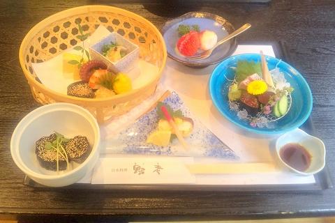 埼玉県所沢市久米にある懐石・会席料理のお店「日本料理 野老」花膳