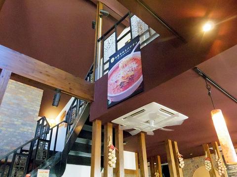 埼玉県入間市東町1丁目にあるイタリアンの「イルキャンティカフェ iL-CHIANTI CAFE入間店」店内