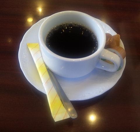 埼玉県所沢市北所沢にある中華料理店「上海料理 寒舎」ランチに付くホットコーヒー
