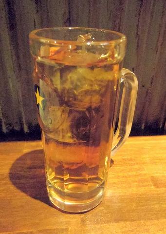 東京都板橋区成増2丁目にある居酒屋「成増ダイナマイト酒場グレート」ウーロン茶
