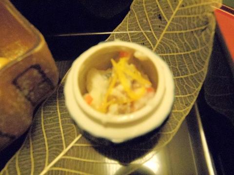 石川県金沢市末町の犀川温泉にある料理温泉旅館「滝亭」大根寿司