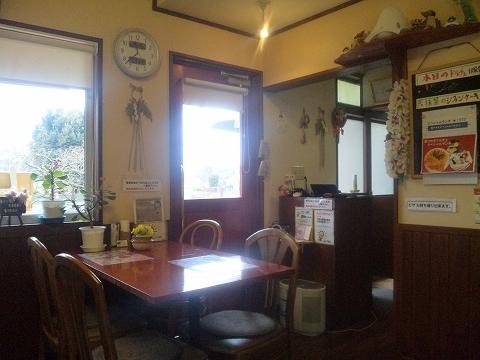 埼玉県所沢市北野3丁目にあるイタリアンのお店「北野の森」店内