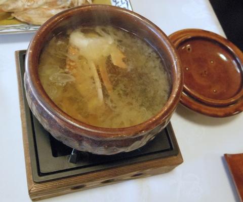 石川県能美市辰口町の辰口温泉にある旅館「まつさき」朝食