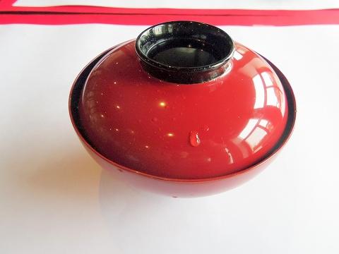 石川県加賀市山代温泉にある温泉旅館「べにや無何有」朝食 お雑煮