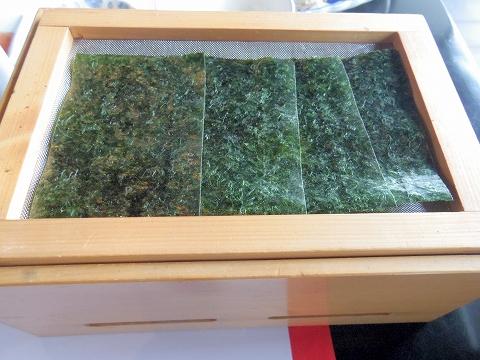 石川県加賀市山代温泉にある温泉旅館「べにや無何有」朝食 焼海苔 無何有製 桶仕込 丸大豆しょうゆ