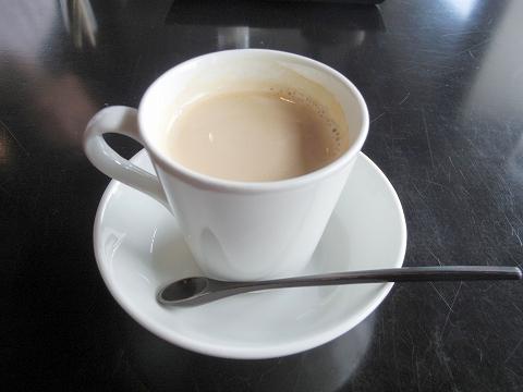 石川県加賀市山代温泉にある温泉旅館「べにや無何有」朝食 食後 無何有ブレンドコーヒー ブル-マウンテンベース