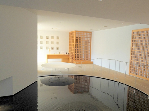 石川県加賀市山代温泉にある温泉旅館「べにや無何有」ダイニング 外観