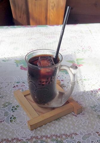 茨城県水戸市見川町にある洋食店「レストハウス時代屋」アイスコーヒー