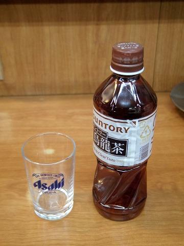 東京都江東区清澄3丁目にある居酒屋「三岩」ウーロン茶