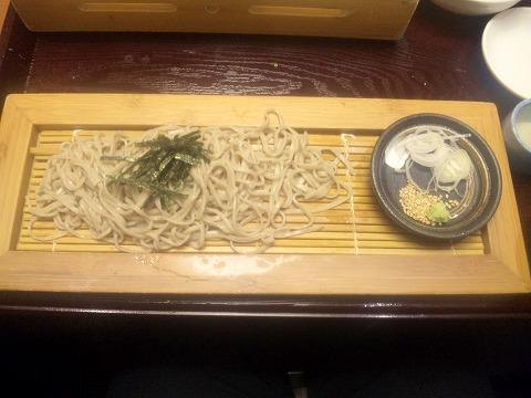 埼玉県入間市下藤沢にある寿司、創作料理の「一幸 入間店」特上和の極みの石臼挽きそば