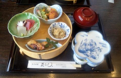埼玉県所沢市緑町3丁目にある割烹、小料理のお店「旬菜料理 花もも」ももいろ弁当