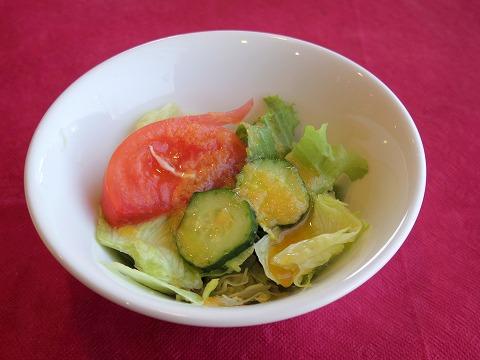 埼玉県吉川市栄町にある洋食店「レストラン コヤノ Restaurant Koyano」牛肉カツレツセットのサラダ