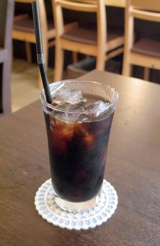 埼玉県入間市下藤沢にあるカフェ、ダイニングの「MAY 30.」和風ハンバーグ盛合定食のドリンク(アイスコーヒー)