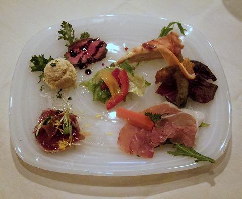 東京都練馬区富士見台3丁目にあるイタリア料理の「ボラーレ Volare」前菜