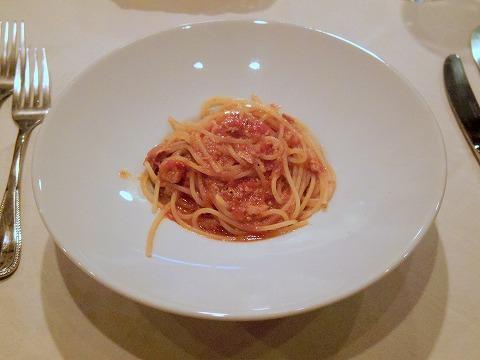 東京都練馬区富士見台3丁目にあるイタリア料理の「ボラーレ Volare」本日のパスタ(大山鶏のラグーソースパスタ)