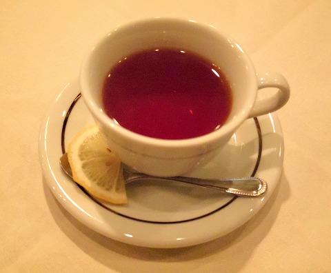 東京都練馬区富士見台3丁目にあるイタリア料理の「ボラーレ Volare」ホットレモンティー