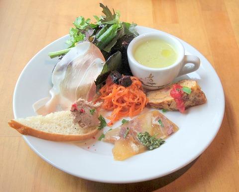 栃木県小山市雨ヶ谷新田にあるイタリア料理の「'O Girasole  オ・ジラソーレ」前菜盛り合わせ