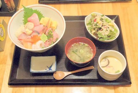 茨城県古河市仁連にある寿司、居酒屋の「真乃心」真乃心海鮮丼