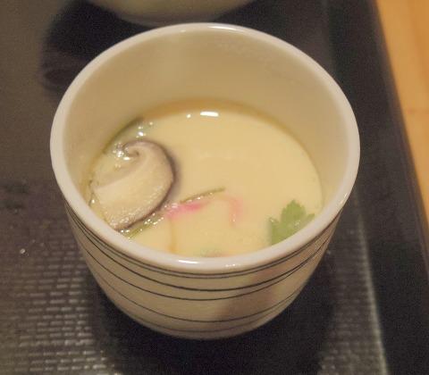 茨城県古河市仁連にある寿司、居酒屋の「真乃心」茶碗蒸し