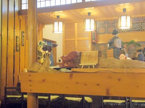 埼玉県越谷市袋山にある「嘉月寿司」店内