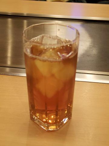 東京都練馬区谷原1丁目にあるお好み焼き、もんじゃの「お好み焼き ふふ」ウーロン茶