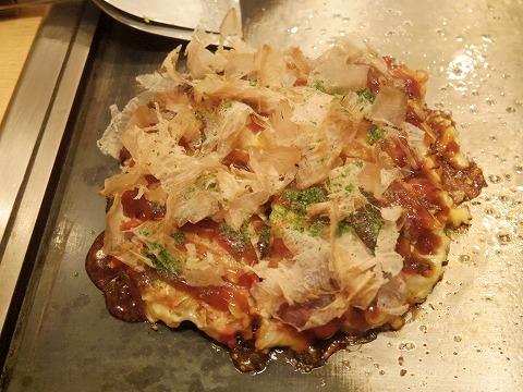 東京都練馬区谷原1丁目にあるお好み焼き、もんじゃの「お好み焼き ふふ」お好み焼き 豚玉