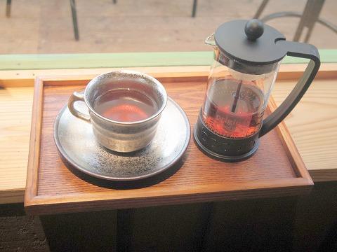 長野県上田市別所温泉にあるカフェ「Katsuraso Cafe ハレterrace カツラソウ カフェ ハレテラス」ダージリンティー