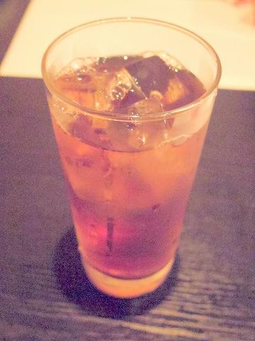東京都西東京市東町2丁目にある居酒屋「和厨房ふじき」ウーロン茶