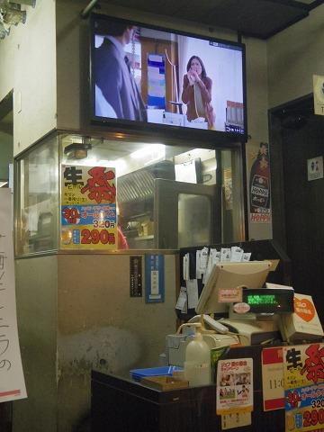 東京都新宿区中落合1丁目にある焼鳥店「焼鳥日高 中井駅前店」店内