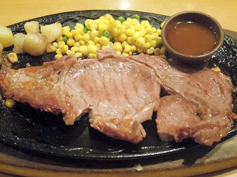 東京都練馬区光が丘5丁目にあるファミリーレストラン「サイゼリア 光が丘」リブステーキ