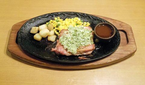 東京都練馬区光が丘5丁目にあるファミリーレストラン「サイゼリア 光が丘」若鶏のグリル(ディアボラ風)