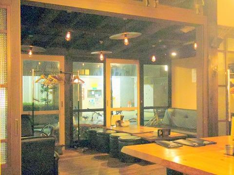 神奈川県川崎市中原区木月1丁目にある居酒屋「和風居酒屋 和乙酒房 満MARU まんまる」店内