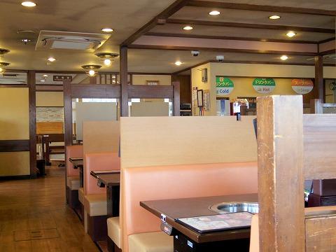 茨城県ひたちなか市高場にある焼肉店「焼肉 宝島 高場店」外観