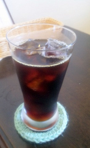 埼玉県越谷市平方南町にあるカフェ「Nico  Cafe」アイスコーヒー