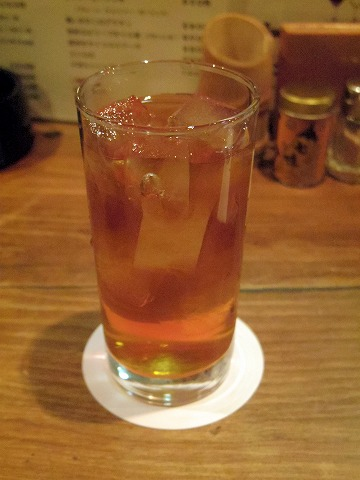 長野県長野市南長野にある焼鳥、居酒屋の「とりこまち」ウーロン茶