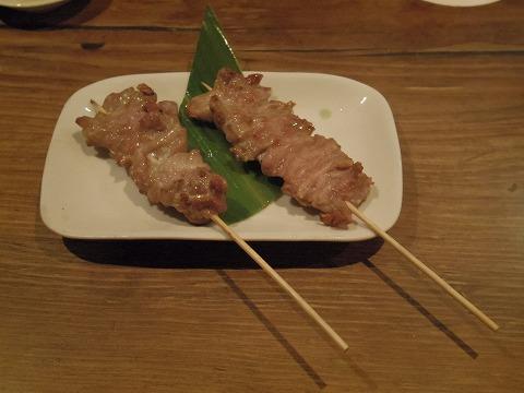 長野県長野市南長野にある焼鳥、居酒屋の「とりこまち」地鶏串せせり
