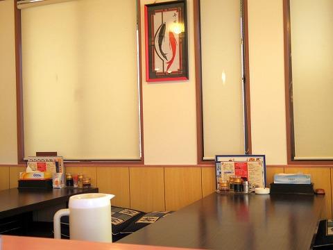 埼玉県狭山市大字北入曽にある「台湾料理 桜」店内